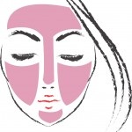 Masque argile rose Lovea - Application peaux sensibles
