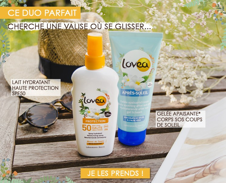 Lovea Solaire Protections cremes solaires
