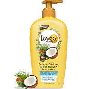 Douche gourmande coco lovea nature