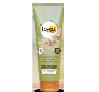 LOVEA Gel nettoyant visage purifiant à l'Argile blanche Tous types de peaux 150 ml – 5.07 fl.oz.
