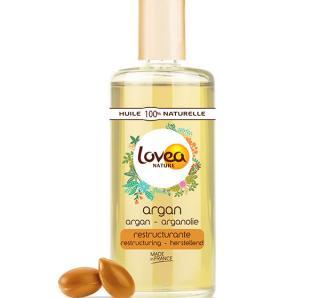Huile d'Argan 100% naturelle Lovea peaux sèches