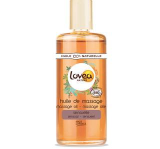 Huile de massage Sensuelle certifiée bio Lovea