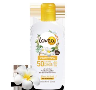 LOVEA Lait Solaire SPF 50 au Monoï de Tahiti 200 ml – 6.76 fl.oz.
