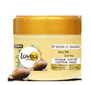 Masque capillaire cheveux secs au karité 500 ml