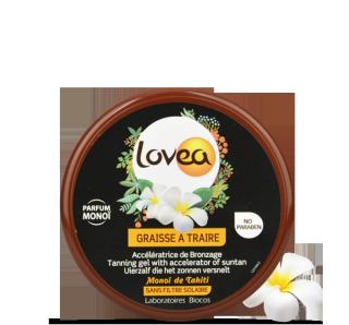 LOVEA Pot Graisse à Traire Monoï Accélératrice de Bronzage 150 ml - 5.07 fl.oz.