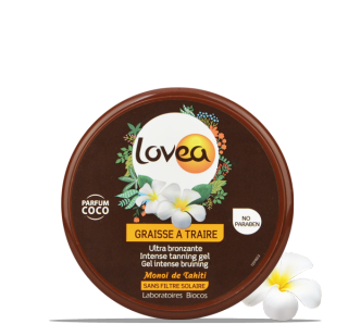 LOVEA Pot Graisse à Traire Monoï 150 ml - 5.07 fl.oz.