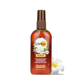 LOVEA Spray Monoï teinté sans filtre 125 ml - 4.22 fl.oz.