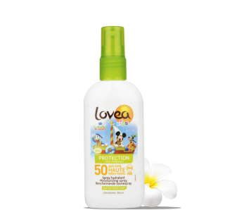 LOVEA Spray KIDS SPF 50 Disney certifié BIO 100 ml - 3.38 fl.oz.