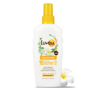 LOVEA Spray Solaire SPF 15 au Monoï de Tahiti 200 ml – 6.76 fl.oz