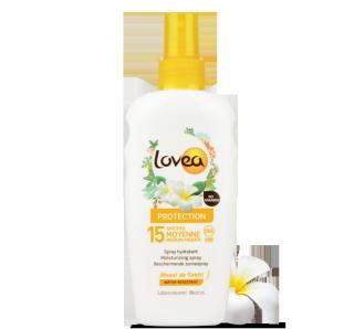 LOVEA Spray Solaire SPF 15 au Monoï de Tahiti 200 ml – 6.76 fl.oz