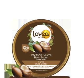 LOVEA NATURE Beurre de Karité 100% Pur mini format 30 g