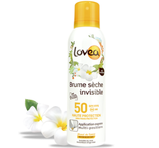 Brume invisible sèche fps50 lovea