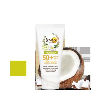 Lovea Crème Visage SPF50+ Très Haute Protection Lovea Solaire