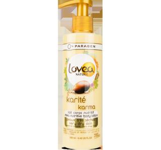 Lovea Nature - Lait corps nutritif karité karma peaux sèches