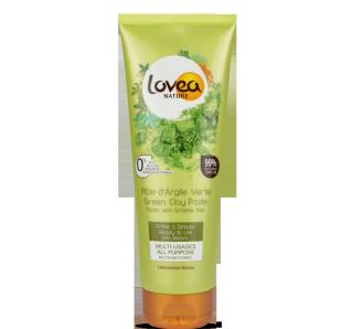 LOVEA Pâte d'Argile verte prête à l'emploi Peaux normales à grasses 360 grs – 12.69 oz.