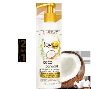 Démêlant & Masque capillaire Coco Paradise 250 ml