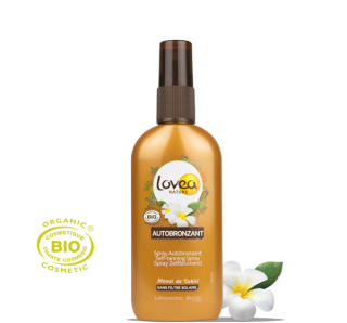 LOVEA Spray Autobronzant certifié BIO 125 ml - 4.22 fl.oz