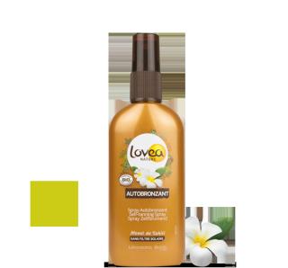LOVEA Spray Autobronzant certifié BIO 125 ml - 4.22 fl.oz